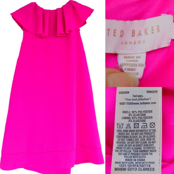 f5e984b5f91228 M_5b2a91dfc617777f9a651664. Other Dresses you may like. Ted Baker FLEURAY  Flourish A-line dress Pink